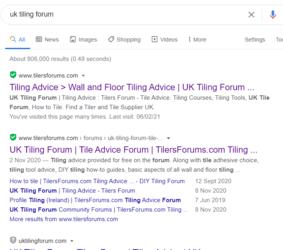 UK Tilers Forum