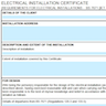 EIC (Electrical Installation Certificate): editable PDF based on IET Model form