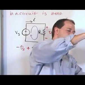 Lesson in Kirchhoffs Voltage Law   Explaining Kirchoffs Voltage Law