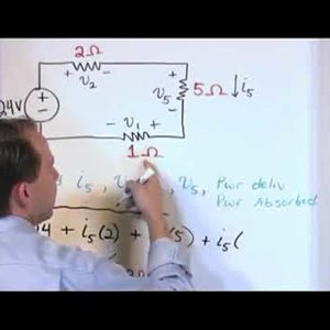 Part 1 - Solving Circuits with Kirchhoffs Laws | Electrical Training Videos