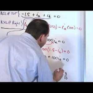 Part 4 Solving Circuits with Kirchhoffs Laws - Electricial video series