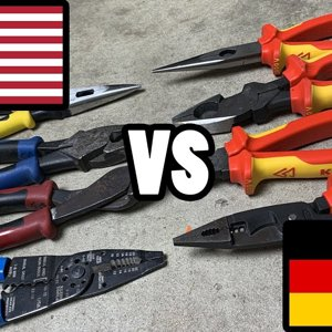 TOOL WAR I - US Made vs German Made - Which is better, Klein or Knipex?