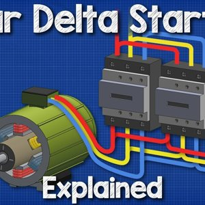 For trainees if interested - Star Delta Starter Explained - Working Principle