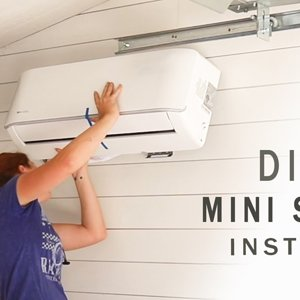 How NOT to install an AC Unit - DIY Ductless Mini Split Install - MrCool Unit