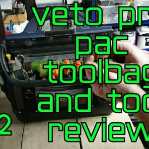 Veto Pro Pac OT-XL and tools review. ELECTRICIAN