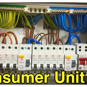 Step by Step How to Connect up a 10 Way Wylex Dual RCD Consumer Unit (Fuse Box) By Luke Wichard