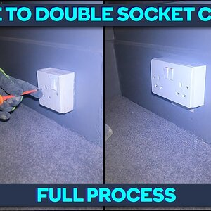 *New Feature* Single To Double Socket Change   Delroy The Spark Full Process