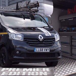 THE VAN TOUR - Electrician - Renault Trafic Premier Edition Thomas Nagy