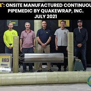 InfinitPipe®: Onsite Manufactured Continuous FRP Conduit