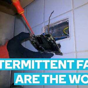 Intermittent Faults Are The Worst   Electrician In London